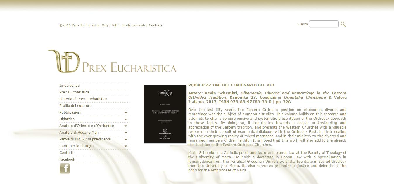 Prex Eucharistica