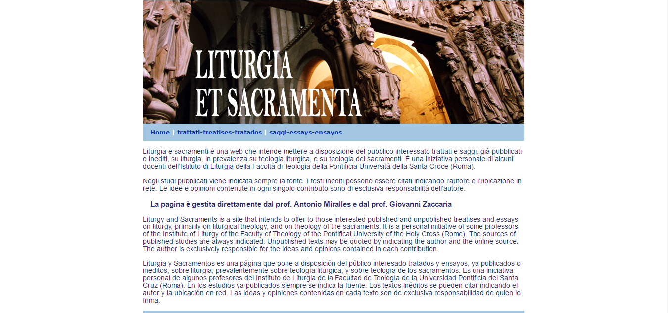 Lirtugia et Sacramenta